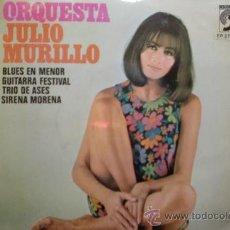 Discos de vinilo: ORQUESTA JULIO MURILLO-BLUES EN MENOR-SG-1974-. Lote 21561801
