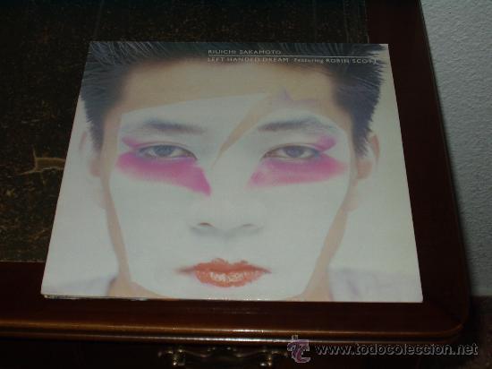 RIUICHI SAKAMOTO LP LEFT HANDED DREAM ( ROBIN SCOTT) (Música - Discos - LP Vinilo - Electrónica, Avantgarde y Experimental)