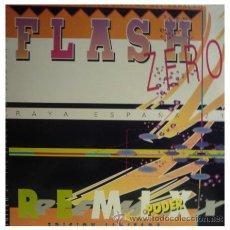Discos de vinilo: FLASH ZERO - RAYA ESPAÑA 21 REMIX - MAXI SINGLE MUY RARO MINIMAL INDUSTRIAL. Lote 22804794