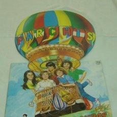 Discos de vinilo: DISCO LP VINILO LAS LOCURAS DE PARCHIS- BELTER 1982. Lote 25212416