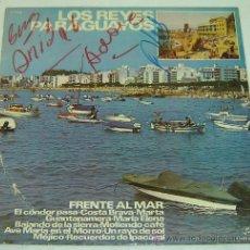 Discos de vinilo: DISCO LP VINILO LOS REYES PARAGUAYOS-COLUMBIA 1971-CON AUTOGRAFOS ORIGINALES. Lote 27131615