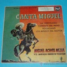 Discos de vinilo: MIGUEL ACEVES MEJIA Y EL MARIACHI VARGAS DE TECALITLAN. RCA. Lote 162438357