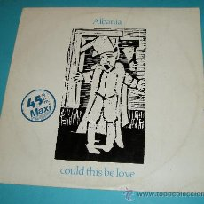 Discos de vinilo: MAXI-SINGLE. ALBANIA. COULD THIS BE LOVE. 1983. Lote 21586914