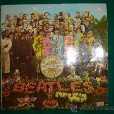 Discos de vinilo: THE BEATLES - SGT. PEPPERS - LONELY HEARTS - CLUB BAND. Lote 21612398