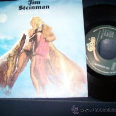 Discos de vinilo: EP JIM STEINMAN - DANCE IN MY PANTS - LEFT IN THE DARK - CBS 1981 . EDICION ESPAÑOLA. Lote 24304436