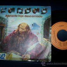 Discos de vinilo: EP KANSAS - ADELANTE HIJO DESCARRIADO - CARRY ON WAYWARD SON - QUESTIONS OF MY CHILDHOOD - 1977 . Lote 24351379