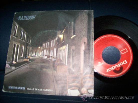 EP RAINBOW - STREET OF DREAMS - ANYBODY THERE (Música - Discos de Vinilo - EPs - Heavy - Metal)