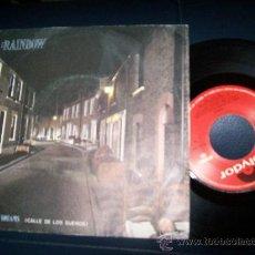 Discos de vinilo: EP RAINBOW - STREET OF DREAMS - ANYBODY THERE. Lote 24351383