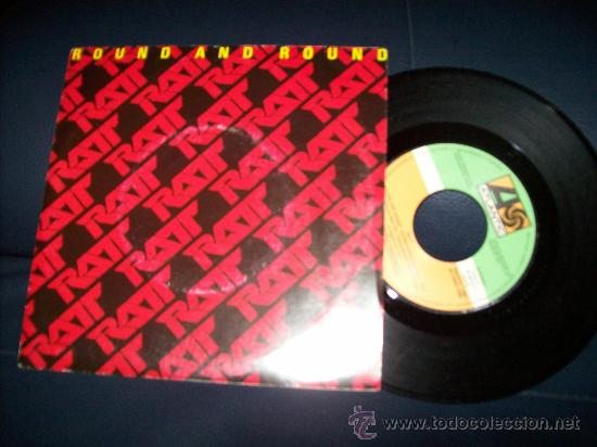 Discos de vinilo: EP RATT - ROUND AND ROUND - YOU THINK YOURE TOUGH - Foto 1 - 24304439