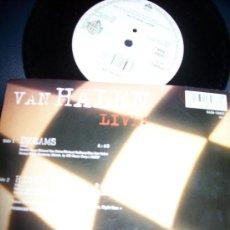 Discos de vinilo: EP VAN HALEN - LIVE : DREAMS - RIGHT NOW. Lote 24351401