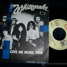 Discos de vinilo: EP WHITESNAKE - GIVE ME MORE TIME - NEED YOUR LOVE SO BAD. Lote 24351403