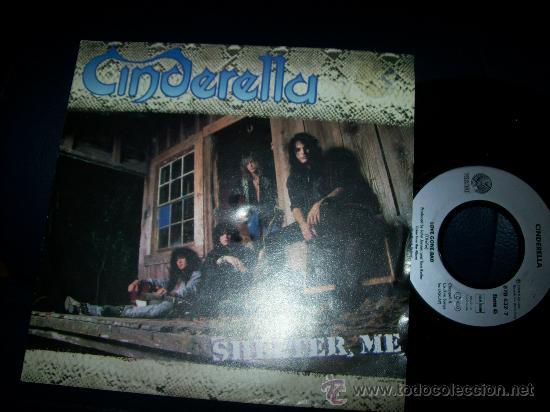 EP CINDERELLA - SHELTER ME - LOVE GONE BAD (Música - Discos de Vinilo - EPs - Heavy - Metal)