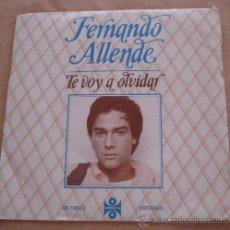 Discos de vinilo: FERNANDO ALLENDE - DILE - TE VOY A OLVIDAR.. Lote 21642118