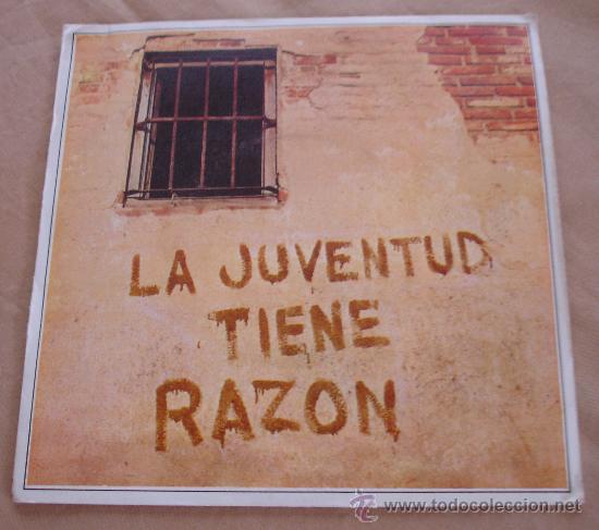 MANOLO DIAZ. - LA JUVENTUD TIENE RAZON. - 1969. (Música - Discos - Singles Vinilo - Otros estilos)