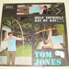 Discos de vinilo: TOM JONES - HELP YOURSELF - DECCA - 1968. Lote 21643142