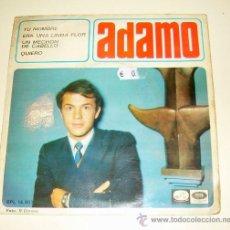 Discos de vinilo: ADAMO - TU NOMBRE - EMI - 1966. Lote 21643367