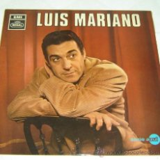 Discos de vinilo: DISCO LP VINILO LUIS MARIANO-ACOMP.ORQUESTA-EMI REGAL SERIE AZUL 1968. Lote 23925612
