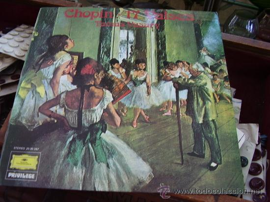 CHOPIN 17 VALSES, TAMAS VASARY (Música - Discos - Singles Vinilo - Clásica, Ópera, Zarzuela y Marchas)