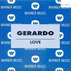 Dischi in vinile: GERARDO / LOVE - LOVE (SINGLE 1992). Lote 21672256
