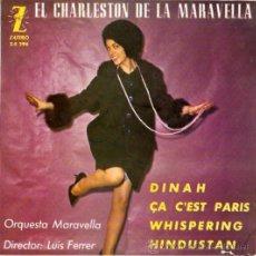 Discos de vinilo: EP ORQUESTA MARAVELLA - EL CHARLESTON DE LA MARAVELLA. Lote 21673099