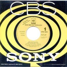Discos de vinilo: NEW KIDS ON THE BLOCK / BABY. I BELIEVE IN YOU (SINGLE 1991). Lote 21673510
