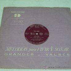 Discos de vinilo: DISCO LP VINILO GRANDES VALSES MELODIAS PARA VIVIR Y SOÑAR Nº9-READERS DIGEST 1964. Lote 26941109