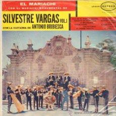 Discos de vinilo: MUSICA GOYO - LP - MARIACHI SILVESTRE VARGAS CON ANTONIO BRIBIESCA - CANCIONES DE MEXICO *UU99. Lote 23186415