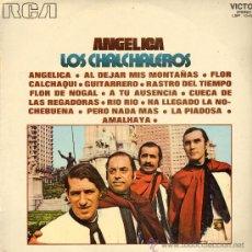 Discos de vinilo: MUSICA GOYO - LP - CHALCHALEROS - ANGELICA - *EE99. Lote 23372805