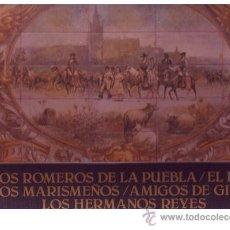 Discos de vinilo: SEVILLANAS CAJA 5 LP LOS ROMEROS DE LA PUEBLA-EL PALI-LOS MARISMEÑOS-AMIGOS DE GINES-LOS HERMANOS RE. Lote 21697293