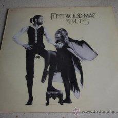 Discos de vinilo: FLEETWOOD MAC ( RUMORS ) 1977 - ENGLAND LP33 WARNER BROS RECORDS. Lote 205863746