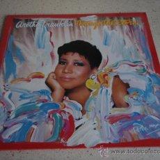 Discos de vinilo: ARETHA FRANKLIN ( THROUGH THE STORM ) 1988/1989 GERMANY LP33 ARISTA RECORDS. Lote 21712176