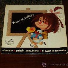 Discos de vinilo: CHAVALITOS DE LA TELE EP VAMOS AL COLE+3. Lote 21712516
