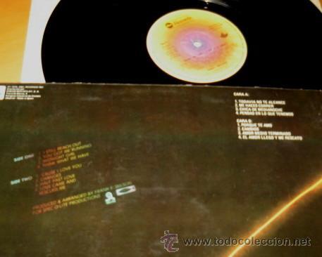 LENNY WILLIAMS - SPARK OF LOVE / CHISPA DE AMOR - LP - ABC 1978 SPAIN -  PRODUCED BY FRANK E  WILSON