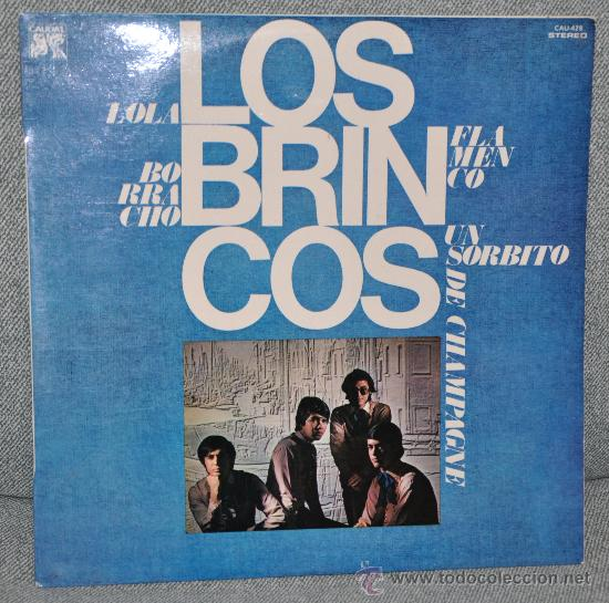 LOS BRINCOS - LP ALBUM VINILO 12'' - 12 TRACKS - EDITADO EN ESPAÑA POR CAUDAL - AÑO 1976 (Música - Discos - LP Vinilo - Grupos Españoles 50 y 60)