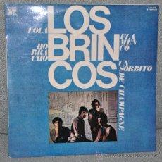Discos de vinilo: LOS BRINCOS - LP ALBUM VINILO 12'' - 12 TRACKS - EDITADO EN ESPAÑA POR CAUDAL - AÑO 1976. Lote 27207974