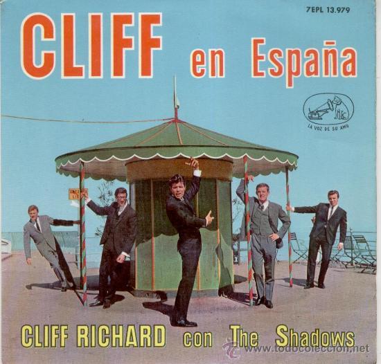CLIFF RICHARD EN ESPAÑOL ( CON THE SHADOWS) -- EP 1963 (Música - Discos de Vinilo - EPs - Pop - Rock Internacional de los 50 y 60)