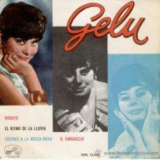 Discos de vinilo: GELU -- RENATO + 3 -- EP 1963. Lote 27207752