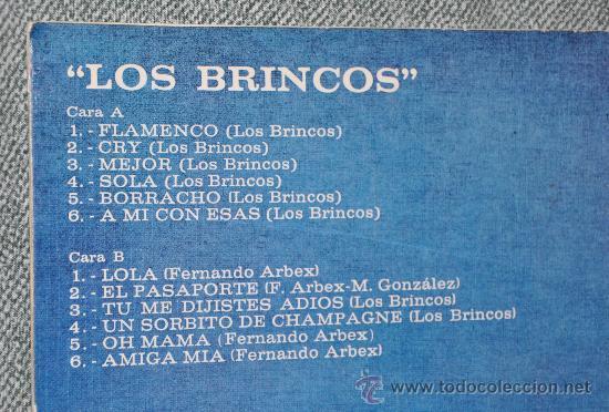 Discos de vinilo: CONTRAPORTADA-TEMAS - Foto 2 - 27207974