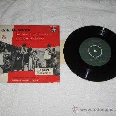 Discos de vinilo: SINGLE JOH.BRAHMS. Lote 27120776