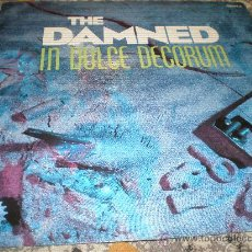 Discos de vinilo: THE DAMNED - IN DULCE DECORIUM- MADE IN UK IN 1986.. Lote 27087791