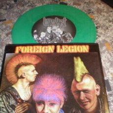 Discos de vinilo: FOREIGN LEGION- THE YEARS GONE BY- GREEN VINYL- MADE IN USA.. Lote 27087742