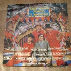 Discos de vinilo: DISCO L.P. DE VINILO DE GABY, MILIKI, FOFITO Y MILIKITO: CÓMO ME PICA LA NARIZ, EL CAÑÓN DE CARAMELO. Lote 27351056