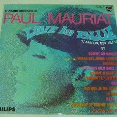 Discos de vinilo: DISCO LP VINILO LE GRAND ORCHESTRE DE PAUL MAURIAT-LOVE IS BLUE- PHILIPS 1969. Lote 23950476