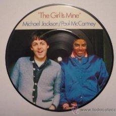 Discos de vinilo: THE BEATLES - PAUL MCCARTNEY & MICHAEL JACKSON - PICTURE DISC - COLLECTORS EDITION. Lote 48459551