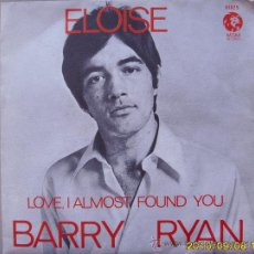 Discos de vinilo: BARRY RYAN. Lote 26216306