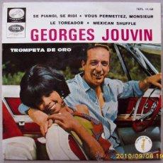 Discos de vinilo: GEORGES JOUVIN TROMPETA DE ORO 1981. Lote 26606186