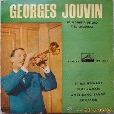Discos de vinilo: GEORGES JOUVIN TROMPETA DE ORO 1962. Lote 26606231
