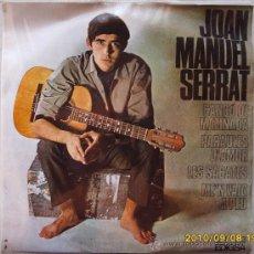 Discos de vinilo: JOAN MANUEL SERRAT - 1966. Lote 26705525