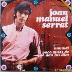 Discos de vinilo: JOAN MANUEL SERRAT . Lote 26685335