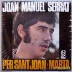 Discos de vinilo: JOAN MANUEL SERRAT . Lote 26685302
